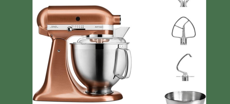 robot kitchenaid artisan couleur cuivre